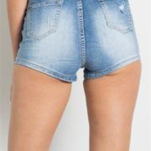 Shorts - High waisted jean shorts